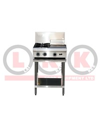 LKK 2 OPEN BURNER WITH 300mm GRIDDLE