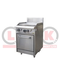 LKK 600mm GRIDDLE WITH STATIC OVEN